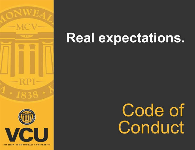 VCU Code of Conduct