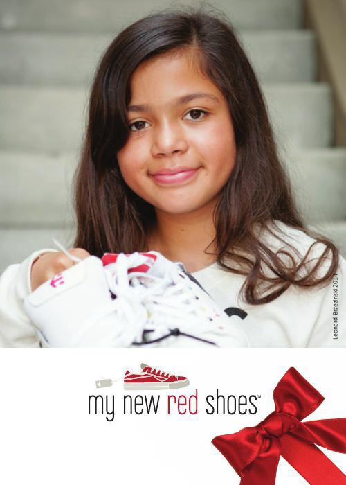 My New Red Shoes Holiday Card