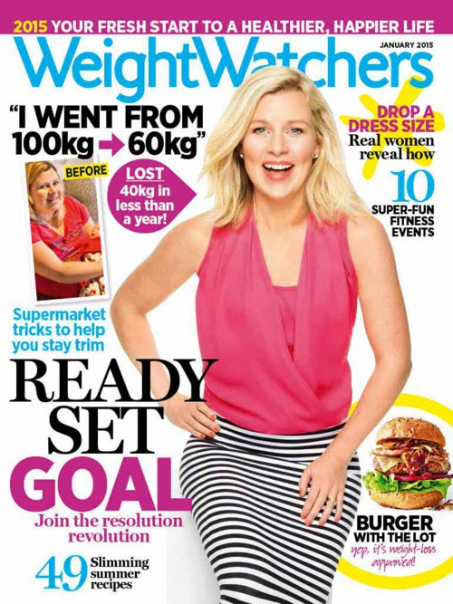 Weight Watchers Magazine January Issue Preview