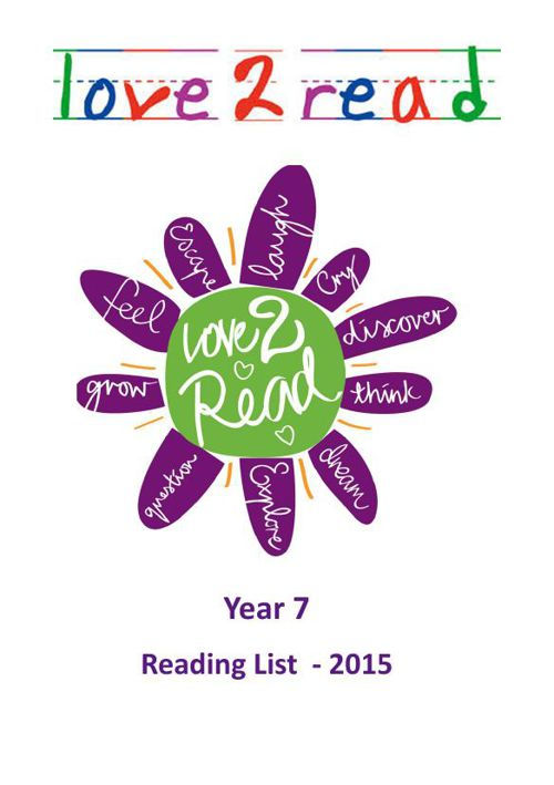Year 7 Reading List 2015