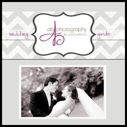 AB Photography Wedding Book