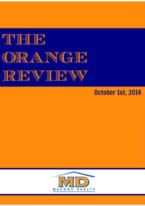 October Orange Review
