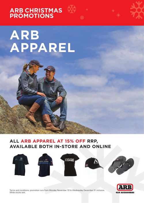 ARB Hobart XMAS Promotions 2014