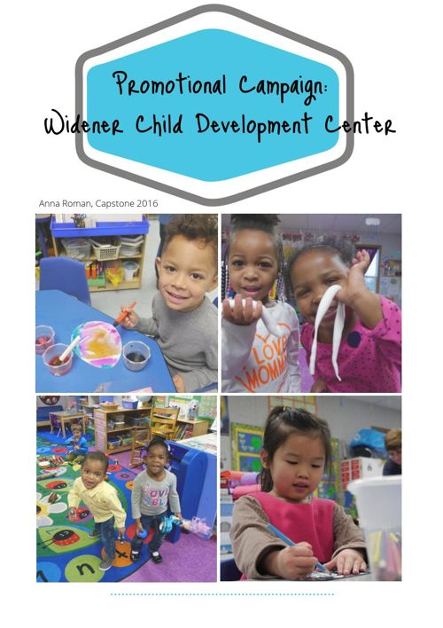 Capstone 2016: Widener Child Development Center