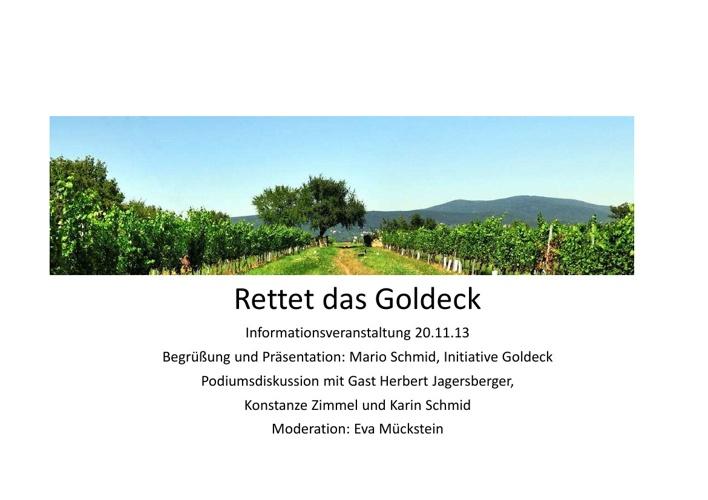 Schlumberger Info-Veranstaltung