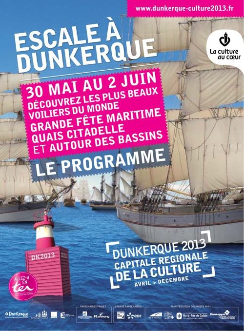 Programme Escale à Dunkerque