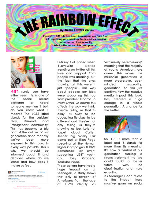 The Rainbow Effect