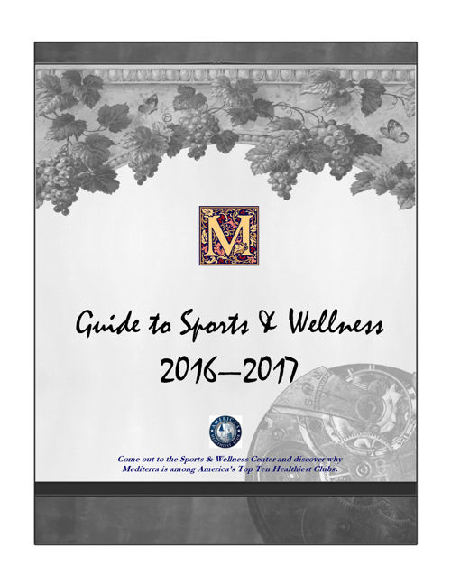 Mediterra Guide to Sports & Wellness 2016-2017