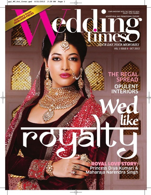 Wedding Times October 2013