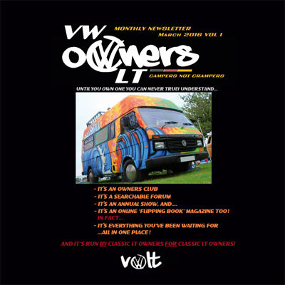 VOLT March Magazine  - the VW LT Owners club