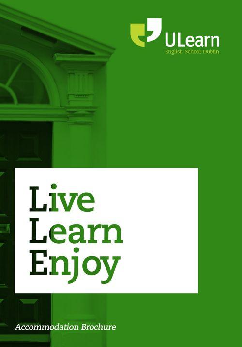 ULearn English School Dublin  | Accommodation Brochure