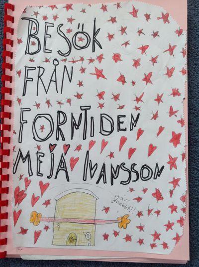 Meja Ivansson Besök från forntiden