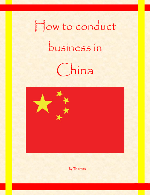 How to Conduct Business in China