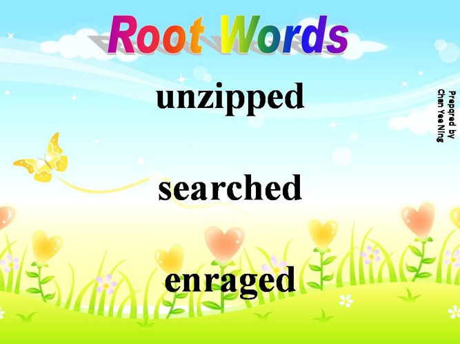 Roots Words