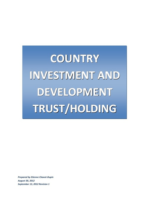 Country Investment and Development Trust