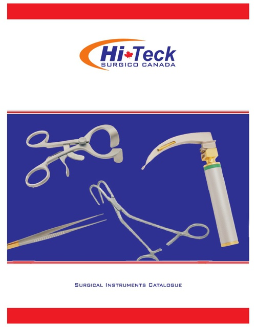 HiTeck's Surgical catalogue