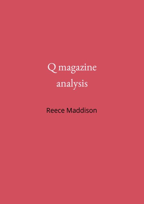 Q magazine case study