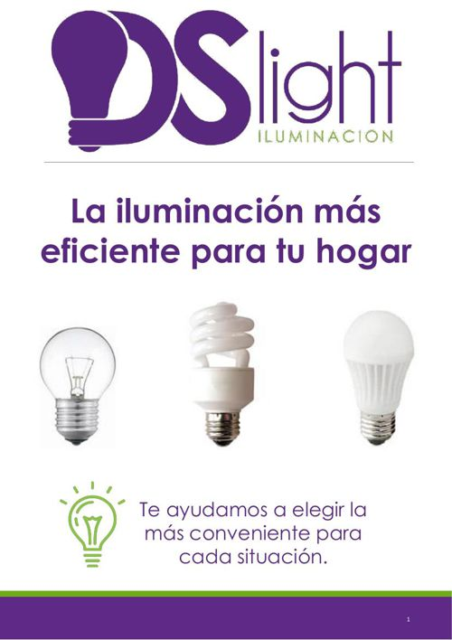 La iluminación más eficiente para tu hogar