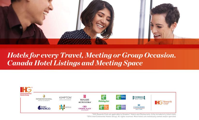 2016 IHG Hotels & Meetings Space Listing