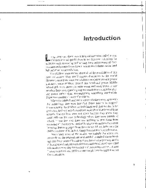 Web Literacy (Intro & Ch. 1)