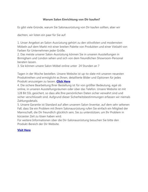 Herrenstuhl,Friseurwagen