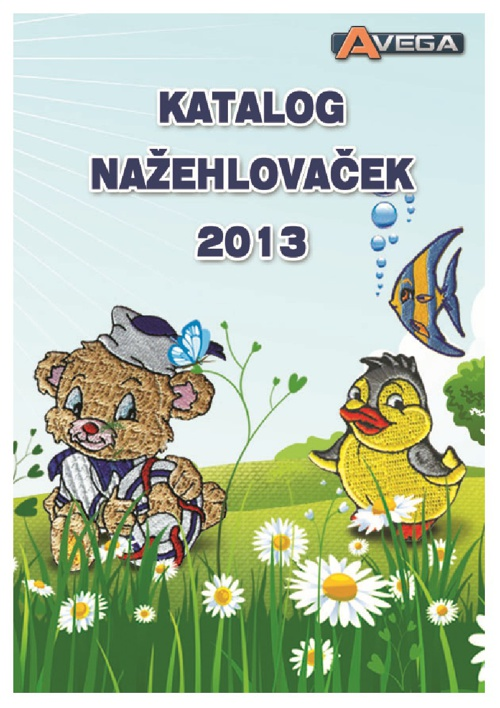 Katalog nažehlovaček 2013