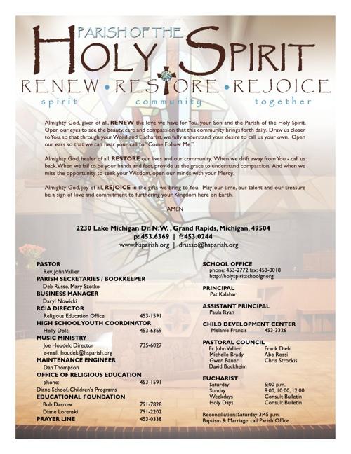 Bulletin August 18, 2013