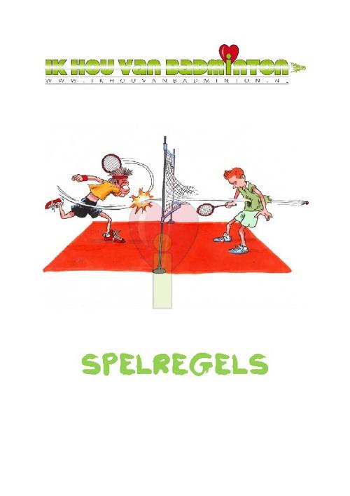 Badmintonspelregels 2011
