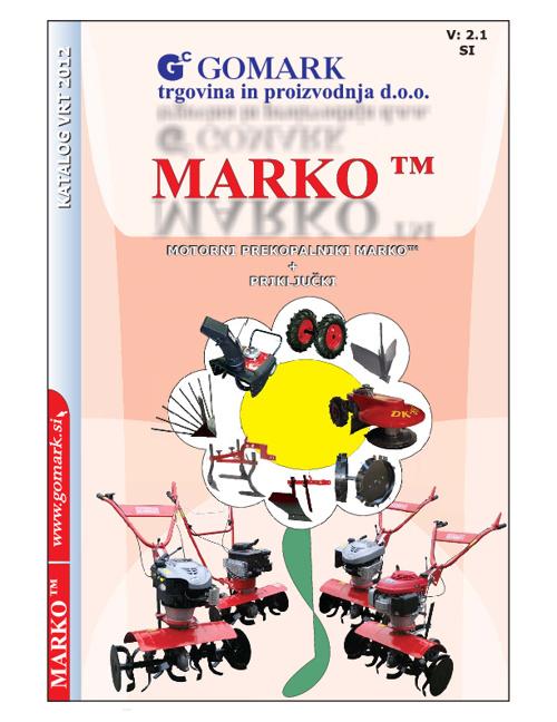 MOTORNI PREKOPALNIK MARKO - SLO -