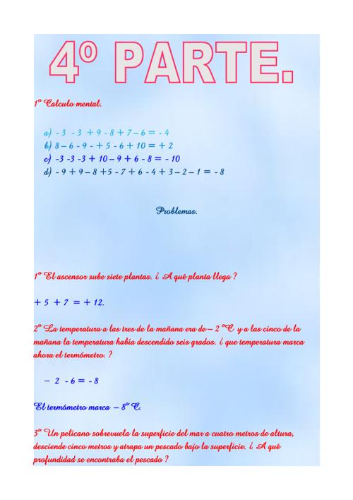 4º parte del tema 5 de matemáticas.