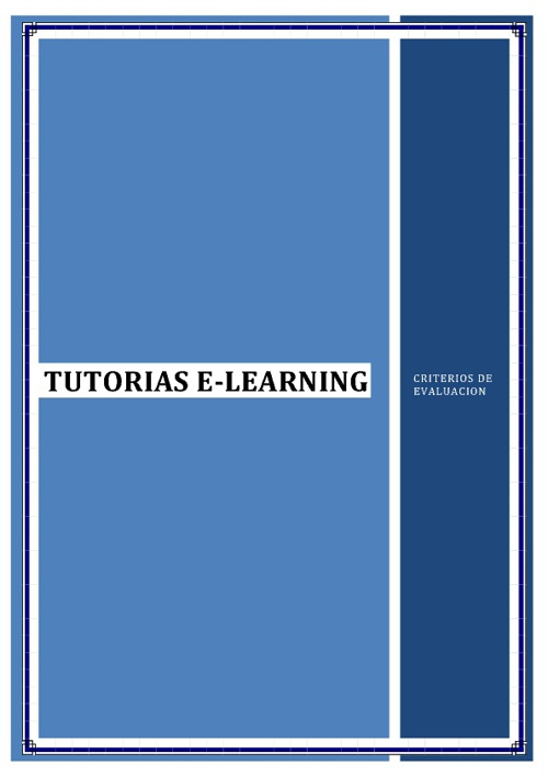 TUTORIAS E-LEARNING