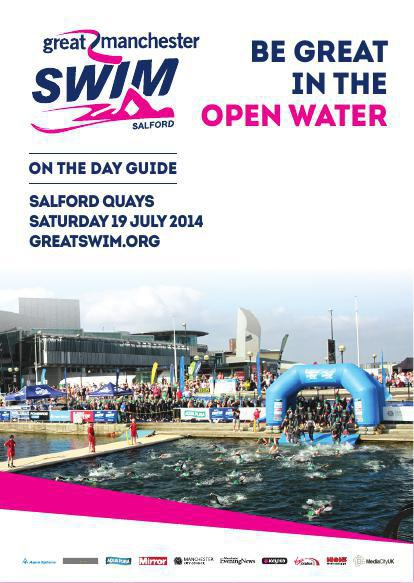 Great Manchester Swim 2014 - On The Day Guide
