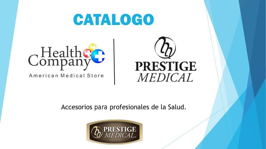 Catalogo Prestige - Health Company