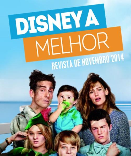 DISNEY A MELHOR: Revista de Novembro 2014