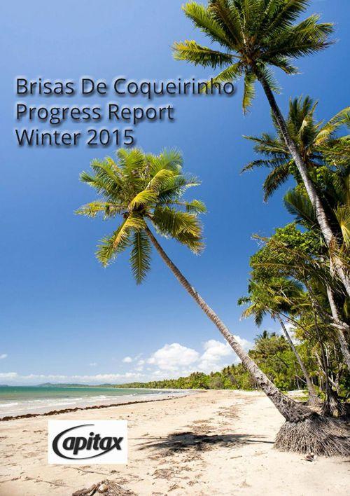 capitax progress report winter 2015