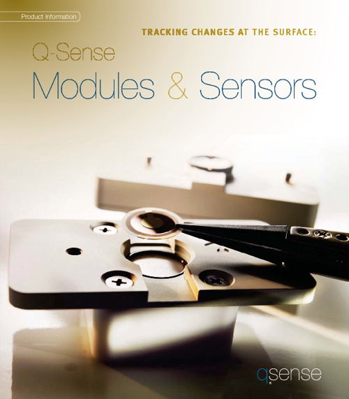 Q-Sense Modules and Sensors Catalogue