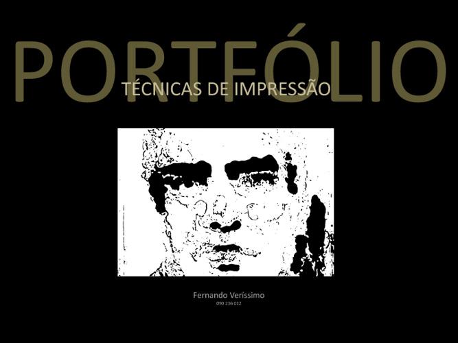 PORTFOLIO ecmFV012_TécnicasImpressão