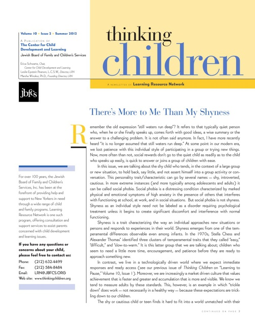 Thinking Children Volume 10 Issue 2