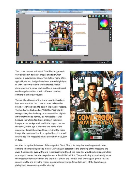 Magazine Cover Analysis 1