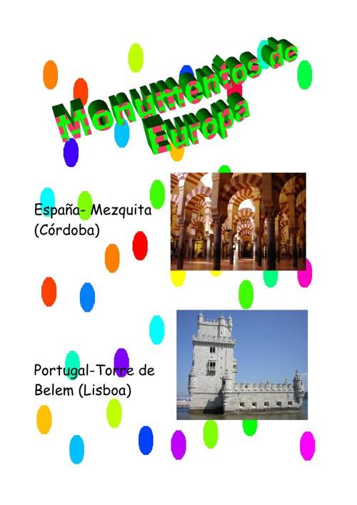 Países y sus monumentos historicos