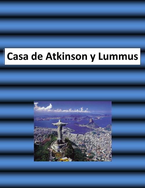 South America Menu