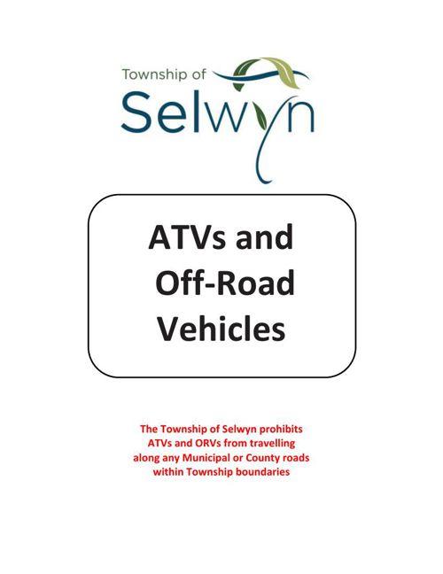 ATV & Off-Road Vehicles - Selwyn Township