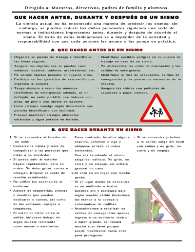 Manual de Seguridad Escolar