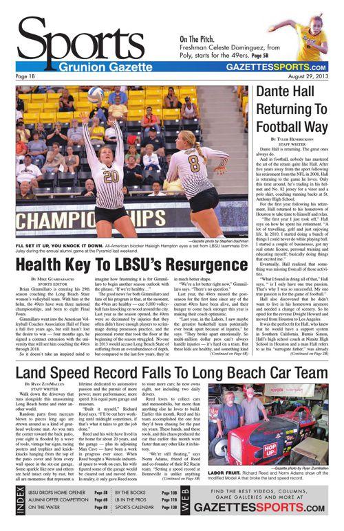 Gazette Sports | August 29, 2013