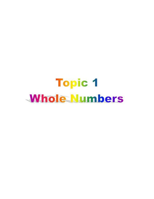 Y5TOPIC1-WHOLENUMBERS