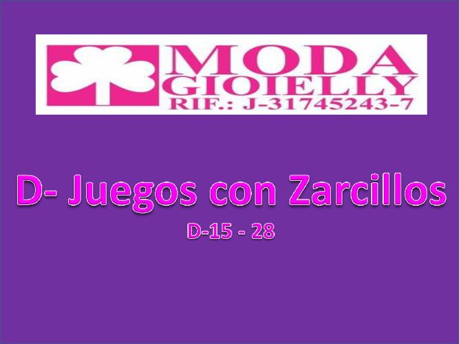 D - Juegos 15- 28