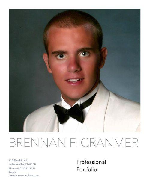Professional Portfolio Cover
