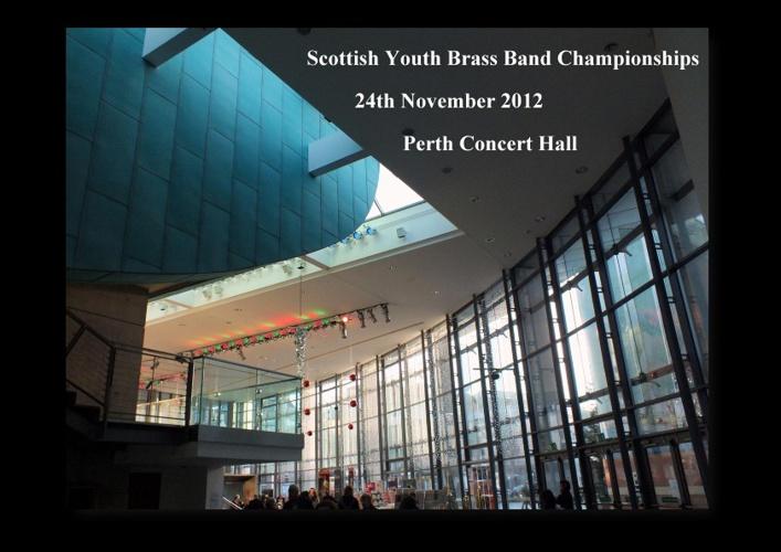 Scottish Youth Brass Band Championships 2012