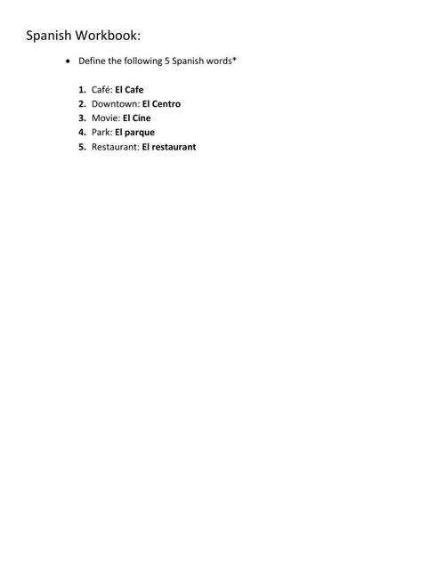 Workbook/Answer Key.