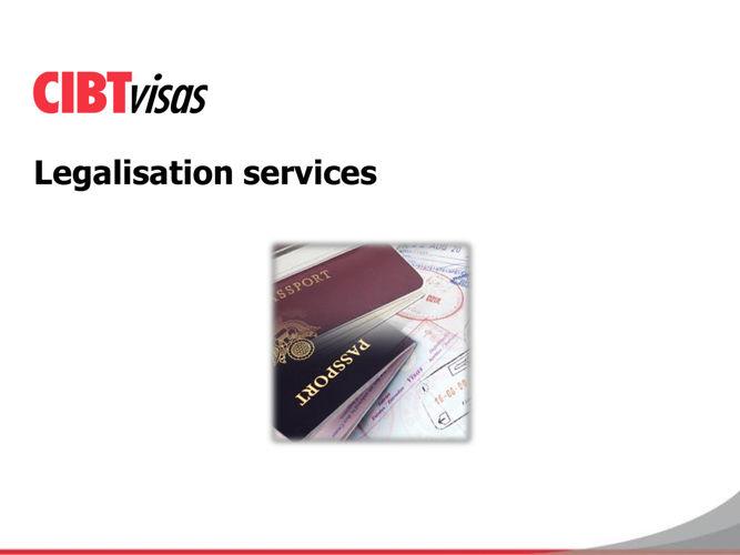 4. Legalisation services EN version - July 2016